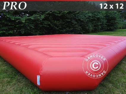 Hüpfkissen 12x12m, Rot, Beständige Mietqualität