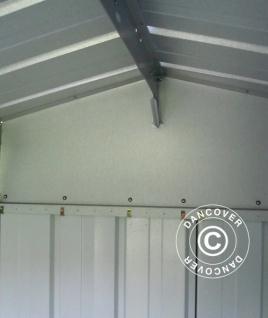 Geräteschuppen Metallgerätehaus 3, 03x2, 98x2, 02m, Silber - Vorschau 2