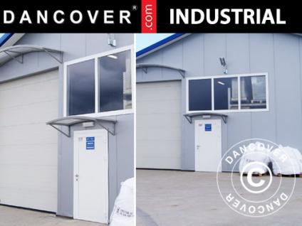 Metalltür für industrielle Lagerhalle Steel, 0, 9x2m, weiß