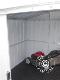 Geräteschuppen Metallgerätehaus 3, 03x2, 98x2, 02m, Silber - Vorschau 5