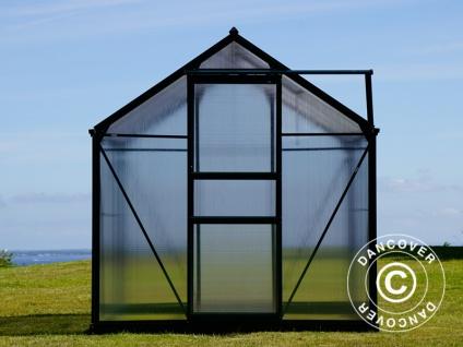 Polycarbonat-Gewächshaus 5, 92m², 1, 9x3, 12x2, 01m, Grün - Vorschau 5