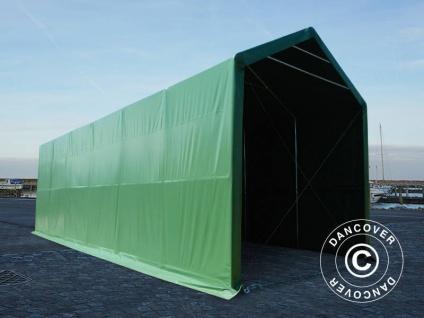 BootszeltZeltgarage Garagenzelt PRO XL 4x12x3, 5x4, 59m, PVC, Grün - Vorschau 5