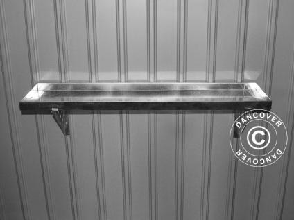 Werkzeuggestell aus Stahl für Geräteschuppen Metallgerätehaus, ProShed®