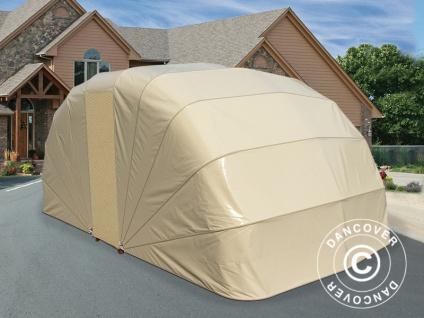 Faltgarage (Auto), 2, 5x4, 7x2m, beige - Vorschau 2