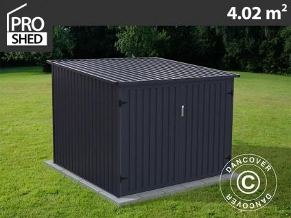 Fahrradbox 2, 03x1, 98x1, 57m ProShed®, Anthrazit