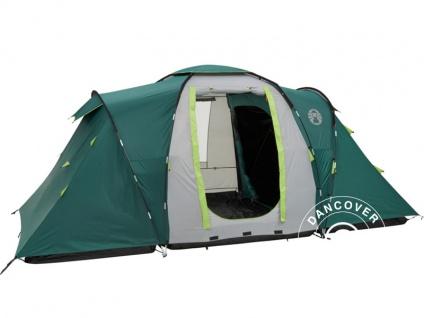 Campingzelt, Coleman Spruce Falls 4, 4 Personen, Grün/Grau