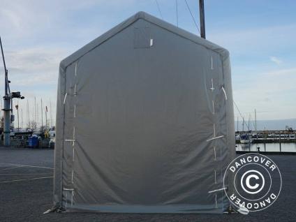 BootszeltZeltgarage Garagenzelt PRO XL 4x12x3, 5x4, 59m, PVC, Grau - Vorschau 5