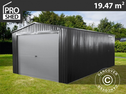 Metallgarage 3, 38x5, 76x2, 43 m ProShed, anthrazit