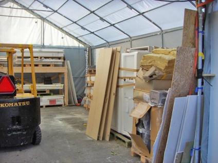 Zelthalle Titanium 7x14x2, 5x4, 2m, Weiß/Grau - Vorschau 3