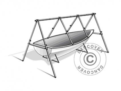Gerüst für Bootsabdeckplane Gewebeplane Abdeckplane, NoTool MARK, 6 m