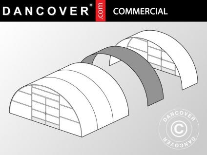 Kommerzielles Tunnel-Gewächshaus Erweiterung, 8, 5x1, 5x3, 3m, transparent