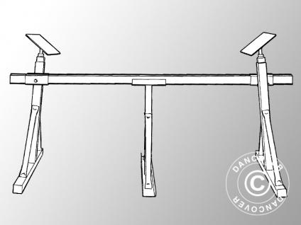 Bootsständer, Stahl, Tyresöbocken Typ IV, Max 5.000kg, Breite 3, 5m