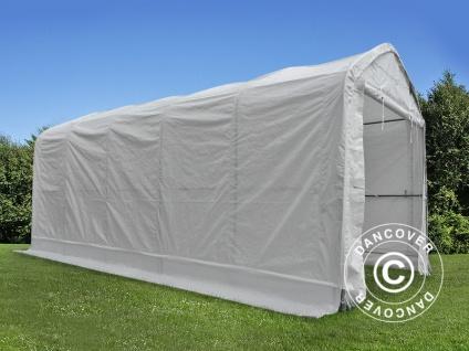 Zelthalle multiGarage Bootszelt 4x14x4, 5x5, 5m, Weiß - Vorschau 5