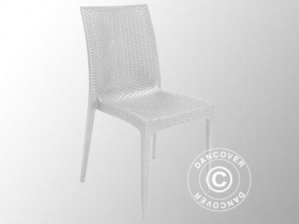 stuhl rattan bistrot wei 6 st ck kaufen bei dancover a s. Black Bedroom Furniture Sets. Home Design Ideas