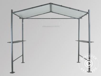 Pavillon, Milano Grill, 2, 65x1, 59m, Dunkelgrau