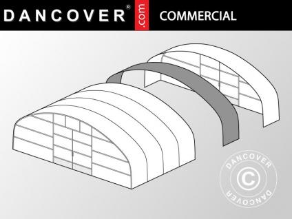 Kommerzielles Tunnel-Gewächshaus Erweiterung, 12x2x3, 95m, transparent