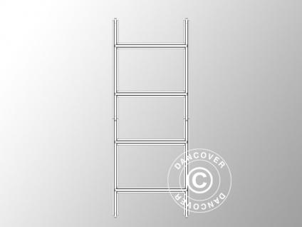 Bodenrahmen für Geräteschuppen Metallgerätehaus, ProShed®, 2, 77x1, 91 m