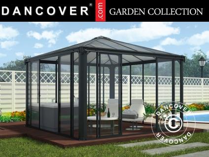 Orangerie/Pavillon LEDRO, 12, 96m², 3, 6x3, 6x2, 95m, Grau
