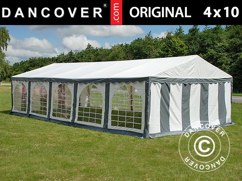 Partyzelt Original 4x10m PVC. Partyzelt PVC kaufen. Verkauf