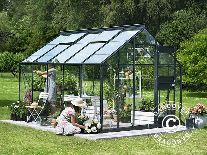 gew chshaus glas juliana junior 9 9m 2 77x3 70x2 57m. Black Bedroom Furniture Sets. Home Design Ideas
