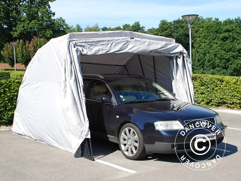 Faltgarage Auto 2 6x5 8x2 1m Grau Kaufen Bei