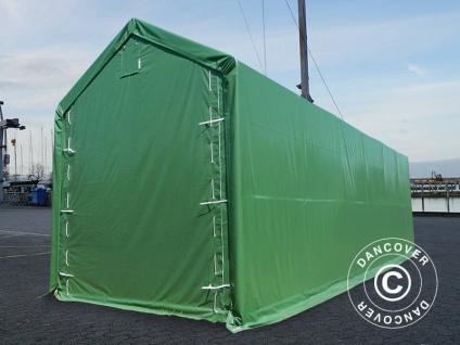 BootszeltZeltgarage Garagenzelt PRO XL 4x12x3, 5x4, 59m, PVC, Grün - Vorschau 3