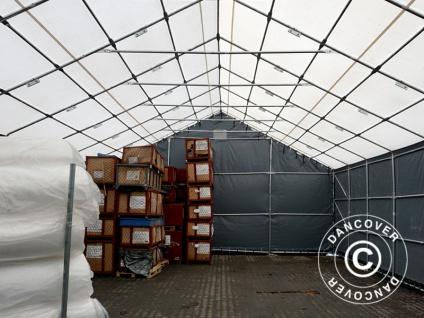 Zelthalle Titanium 6x6x3, 5x5, 5m, Weiß / Grau - Vorschau 4