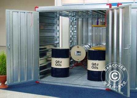 Umweltcontainer 2, 25x2, 2x2, 2 m
