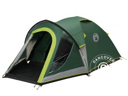 Campingzelt, Coleman Kobuk Valley 4 Plus, 4 Personen, Grün/Grau