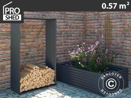 Holzlager/erhöhtes Pflanzbeet, 1, 10x0, 52x1, 80m ProShed®, Anthrazit