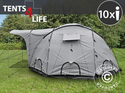 Base Camp/Flüchtlingszelt, Tents4Life, 10 Personen, Silber
