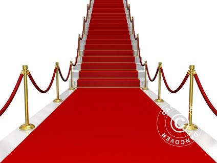Roter Teppich, 1, 25x8m, 400g