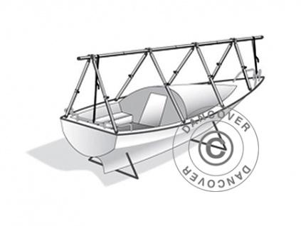 Decksgestell für Bootsabdeckplane Gewebeplane Abdeckplane, NoTool, 8m