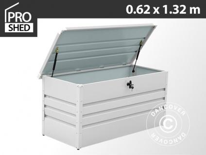 Gartenbox 400L, 0, 62x1, 32x0, 62m ProShed®, Hellgrau