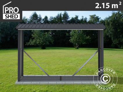 Holzlager 2, 42x0, 89x1, 56m ProShed®, Anthrazit