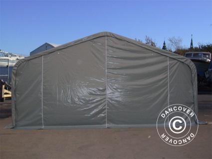 Zeltgarage Garagenzelt PRO 6x12x3, 7m PVC, Grau - Vorschau 2