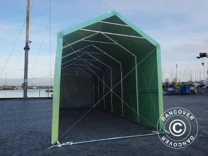 BootszeltZeltgarage Garagenzelt PRO XL 4x10x3, 5x4, 59m, PVC, Grün - Vorschau 4