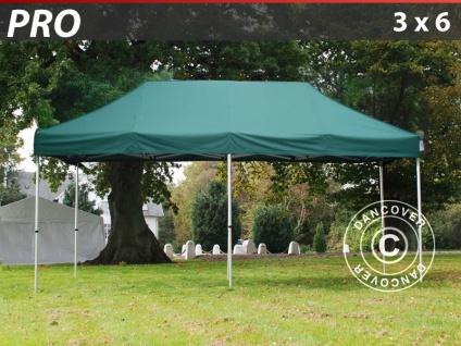 Faltzelt Faltpavillon Wasserdicht FleXtents PRO 3x6m Grün