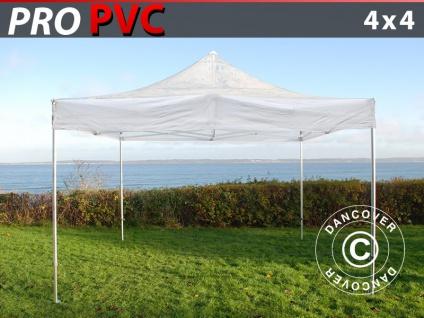 Faltzelt Faltpavillon Wasserdicht FleXtents PRO 4x4m Transparent