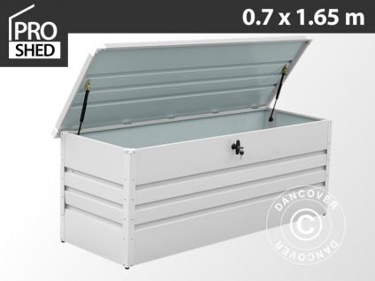 Gartenbox 600L, 0, 7x1, 65x0, 62m ProShed®, Hellgrau
