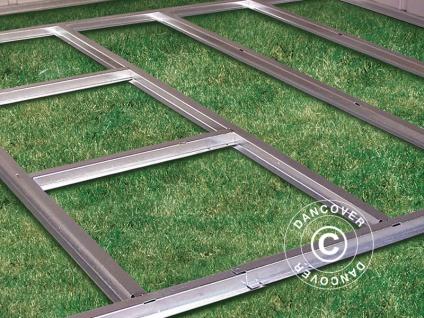 Geräteschuppen Metallgerätehaus-Bodenrahmen für die Schuppen Arrow und Spacemaker 6, 12m² und 7, 57m²