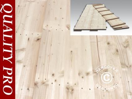 Partyzelt Festzelt-Holzfußboden, 150x50x2, 2cm, Kieferholz, 0, 75 m2