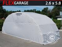 Faltgarage (Auto), 2, 6x5, 8x2, 1m, Grau