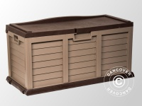 Gartenbox, 141x61x71, 5cm, Mokka/Braun