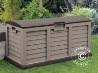 Gartenbox, 140x61x69cm, Mokka/Braun