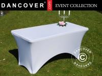 Stretch Tischüberzug 150x72x74cm, Weiß