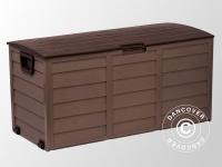 Gartenbox, 114x52x56cm, Mokka/Braun