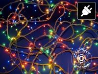 Lichterkette, LED, 100m, Mehrfachfunktion, Mehrfarbige