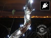 Lichterkette LED, 10m, Mehrfachfunktion, Weiß