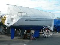 Bootsdeck-Rahmen für Bootsplane, NOA, 9m